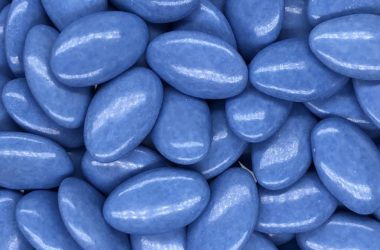 dragee choc lagon bleu